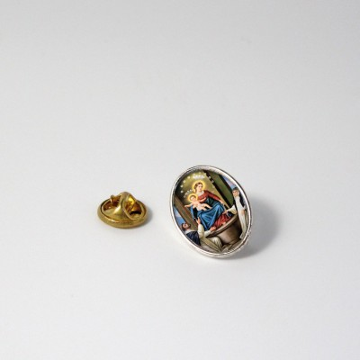 OUR LADY OF THE ROSARY - Metal pin
