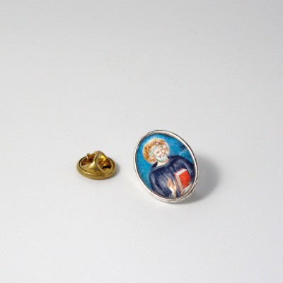SAINT BENEDICT - Metal pin