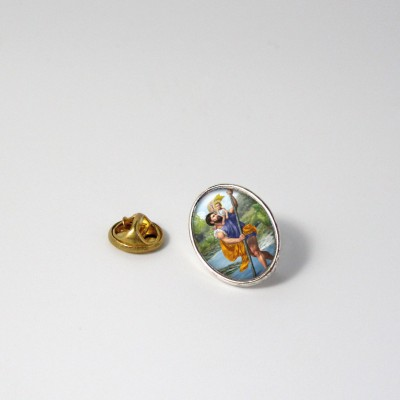 SAINT CHRISTOPHER - Metal pin