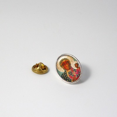 OUR LADY OF CZESTOCHOWA - Metal pin