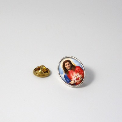 SACRED HEART OF JESUS - Metal pin