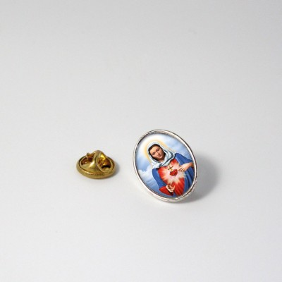 HOLY HEART OF MARY - Metal pin