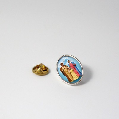 HOLY FAMILY - Metal pin