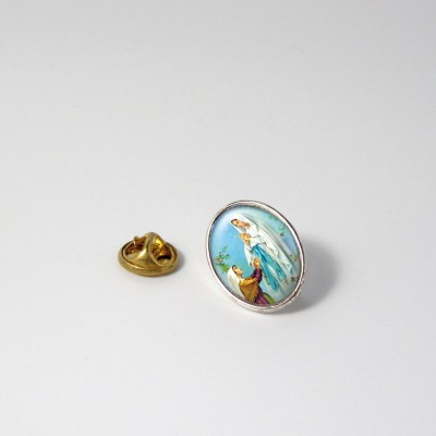 OUR LADY OF LOURDES - Metal pin