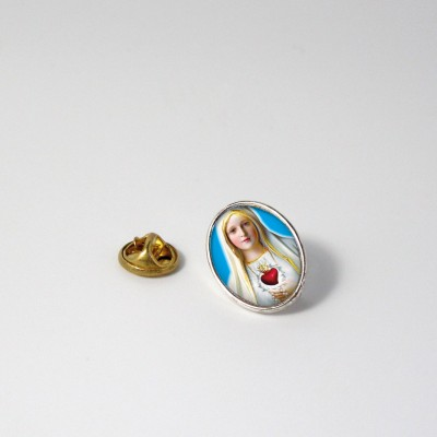 OUR LADY OF FATIMA - Metal pin