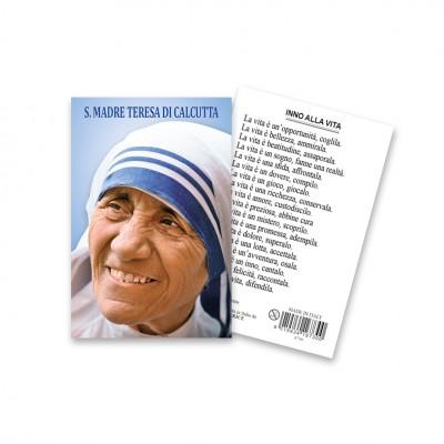 Santa Teresa - Immaginetta sacra