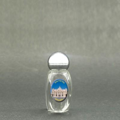 San Pietro Basilica - Bottiglietta per acqua santa con immagine sacra