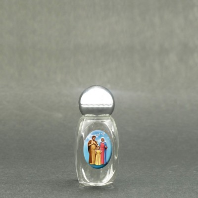 Holy Family - Holy water bottle with sacred picture