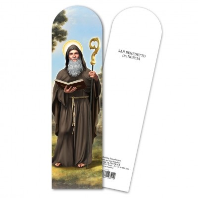 "Bookmark ""Saint Benedict"""