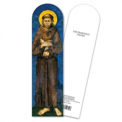 """Segnalibro """"San Francesco d'Assisi"""""""