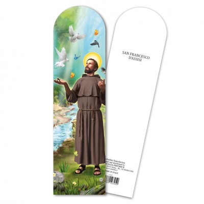 "Bookmark ""Saint Francis of Assisi"""