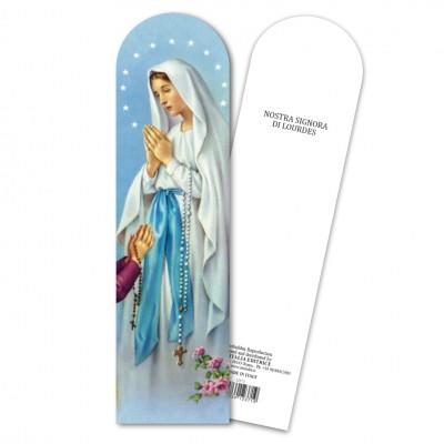 """Segnalibro """"Madonna di Lourdes"""""""