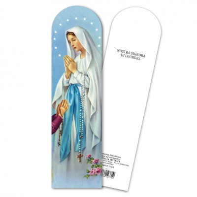 "Bookmark ""Our Lady of Lourdes"""