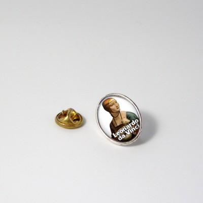LEONARDO - Metal pin