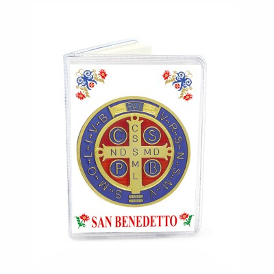 "Booklet ""St. Benedict"" with medal"