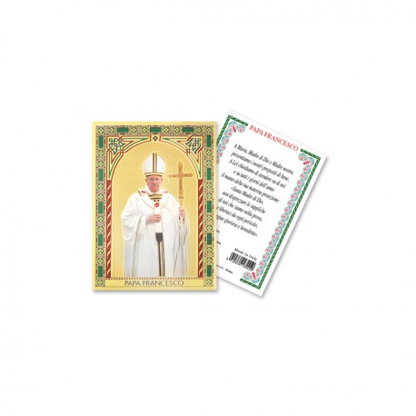 Papa Francesco Pastorale Cornice Rossa