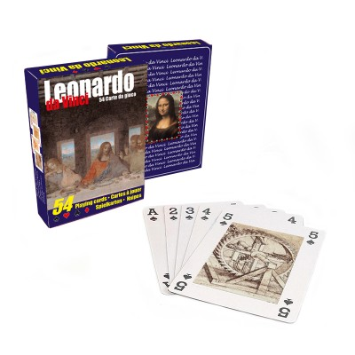 Playing cards of  Leonardo