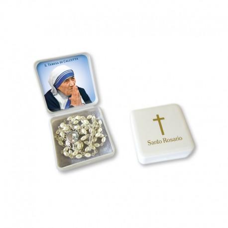 Saint Teresa of Calcutta - Small Rosary case