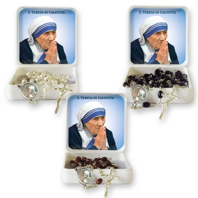 Saint Teresa of Calcutta - Large Rosary case