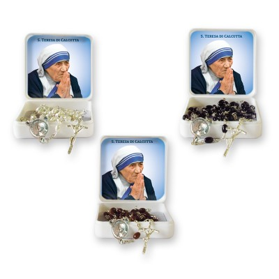 Saint Teresa of Calcutta - Small Rosary case