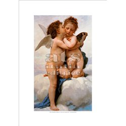 THE FIRST KISS William A. Bouguereau - Private Collection