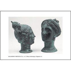 BALSAMARI IN BRONZO (IV sec. a. C.) Museo Archeologico, Tarquinia