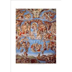 THE LAST JUDGEMENT Michelangelo - Sistine Chapel, Vatican City