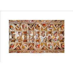 THE VAULT Michelangelo - Sistine Chapel, Vatican City