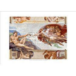 CREAZIONE DI ADAMO (particolare) Michelangelo -  Cappella Sistina, Citta' del Vaticano