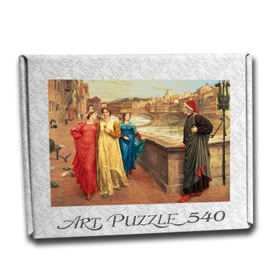 Art Puzzle Dante and Beatrice