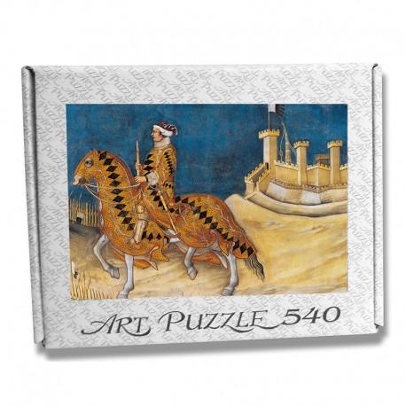 Art Puzzle Guido Riccio by Simone Martini