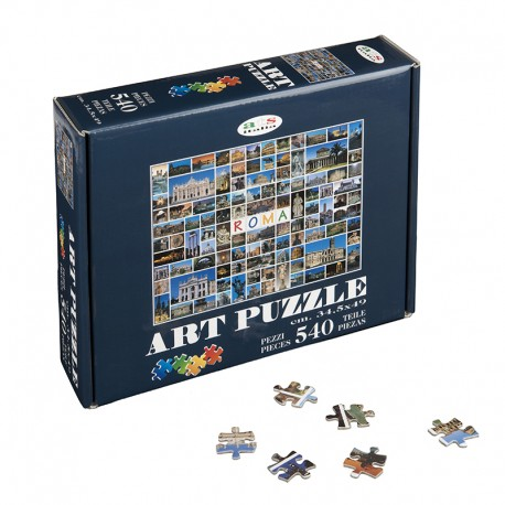 Art Puzzle Rome in 1000 images