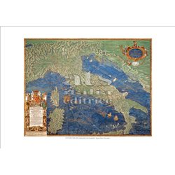 ITALIA ANTICA Ignazio Danti - Galleria delle Carte Geografiche, Citta' del Vaticano