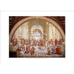SCUOLA DI ATENE Raffaello - Stanza della Segnatura, Citta' del Vaticano