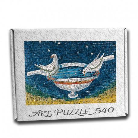 Art Puzzle Colombe che si abbeverano, Ravenna