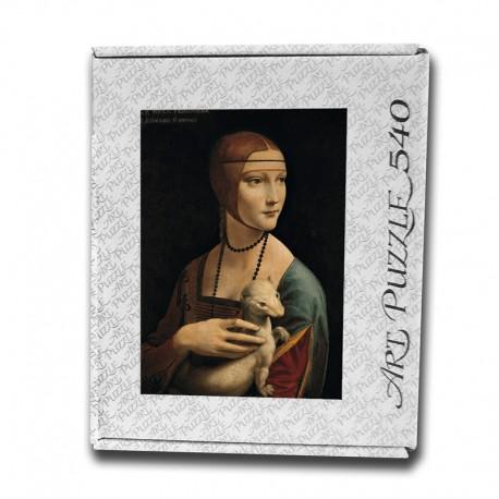 Art Puzzle, Lady with an Ermine by Leonardo