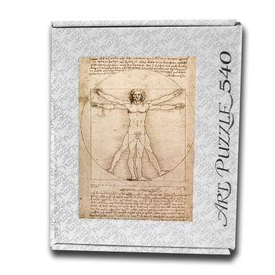 Art Puzzle Uomo Vitruviano, Leonardo