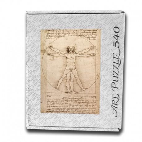 Art Puzzle, Vitruvian Man by Leonardo