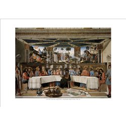 THE LAST SUPPER Rosselli e D'Antonio - Sistine Chapel, Vatican City