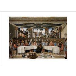 ULTIMA CENA Rosselli e D'Antonio - Cappella Sistina, Citta' del Vaticano