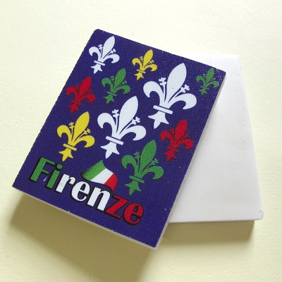 Florence lilies eraser