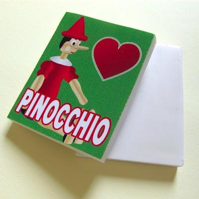 Pinocchio eraser