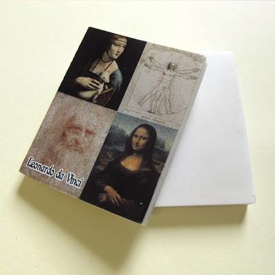 Leonardo Vitruvian Man eraser