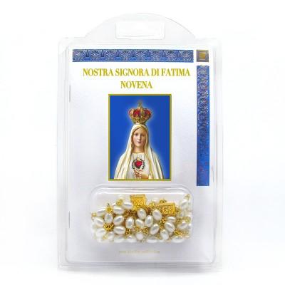 """Libretto con Rosario """"Novena alla Nostra Signora di Fatima"""""""