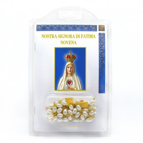 "Booklet with Rosary ""Novena to Our Lady of Fatima"""