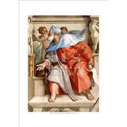 PROPHET EZEKIEL Michelangelo - Sistine Chapel, Vatican City