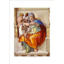 SIBILLA DELFICA Michelangelo - Cappella Sistina, Citta' del Vaticano