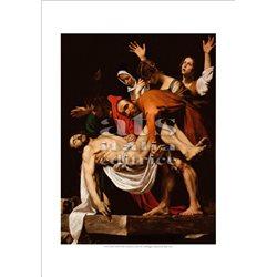 DEPOSIZIONE DALLA CROCE Caravaggio -  Pinacoteca, Citta' del Vaticano