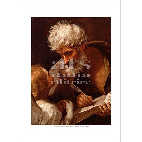 SAN MATTEO E L'ANGELO Guido Reni - Pinacoteca, Citta' del Vaticano