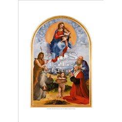 MADONNA DI FOLIGNO Raffaello - Pinacoteca, Citta' del Vaticano